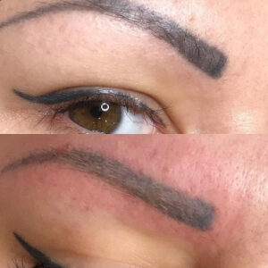 Usuwanie makijażu permanentnego wykonanego w innym salonie - Remover PML